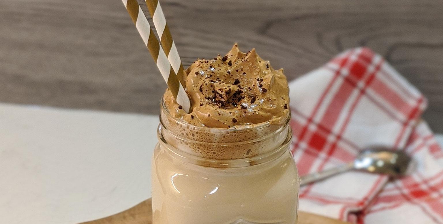 Voir la recette - Café Dalgona