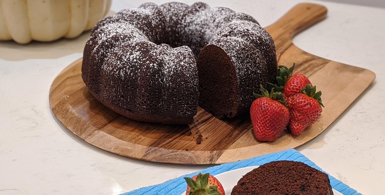 Voir la recette - Gâteau au chocolat Sherwood