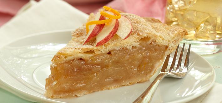 A Touch of Orange Apple Pie