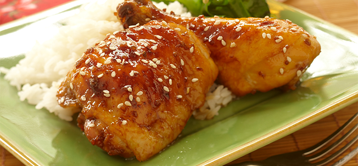 Asian Honey Sesame Chicken