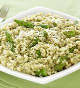 Asparagus Pesto Risotto