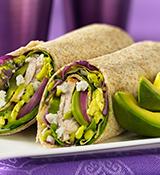 Avocado Salad Wraps