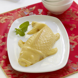 Crème-dessert à la mangue