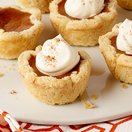 Little Flaky Pumpkin Pies