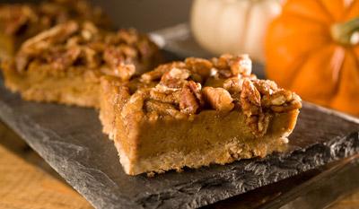 Pumpkin Praline Squares Recipe