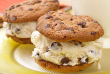 Chocolate Chip Ice Cream Sandwiches Recipe