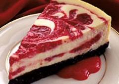 Cherry Swirled Cheesecake Recipe