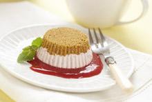 Chilled Raspberry Cakes Recipe