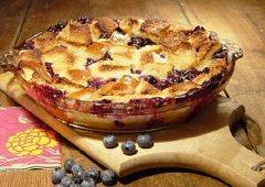 Blueberry Spice Bread Pudding Recipe