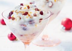 Cranberry Hazelnut Rice Pudding Recipe