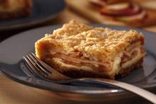 Apple Crumble Cream Cheese Squares Recipe