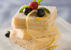 Lemon Shortbread Bars Recipe