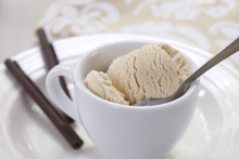 Cafe Latte Ice Cream Recipe
