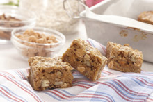 Butterscotch Pecan Crunch Squares Recipe