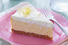 Lemon Heaven Cheesecake with Sour Cream Topping Recipe