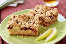 Apple Dulce de Leche Oat Bars Recipe