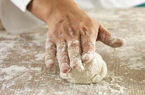 Testing Dough for Proper Moistness