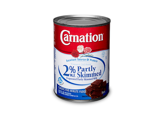 <strong>Carnation®</strong> 2% Evaporated Partly Skimmed Milk