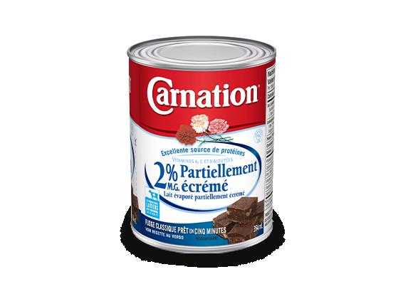 Lait évaporé partiellement écrémé Carnation® – 2 % M.G.