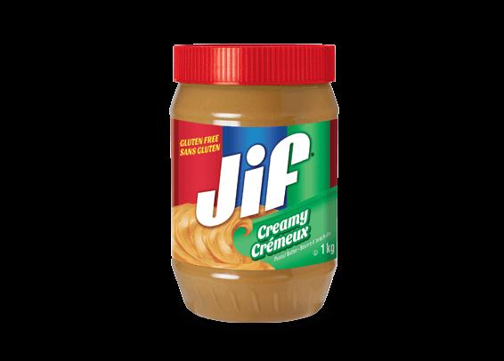 Beurre d'arachide crémeux Jif<sup>®</sup>