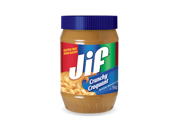 Jif<sup>®</sup> Crunchy Peanut Butter