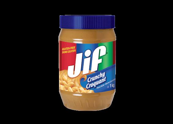 Jif<sup>®</sup> Crunchy Peanut Butter