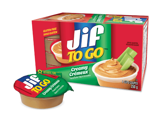 Jif To Go<sup>®</sup> Creamy Peanut Butter