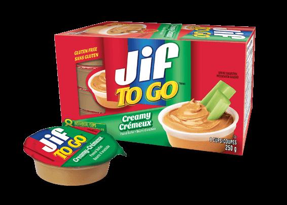 Jif To Go<sup>®</sup> Beurre d'arachide crémeux