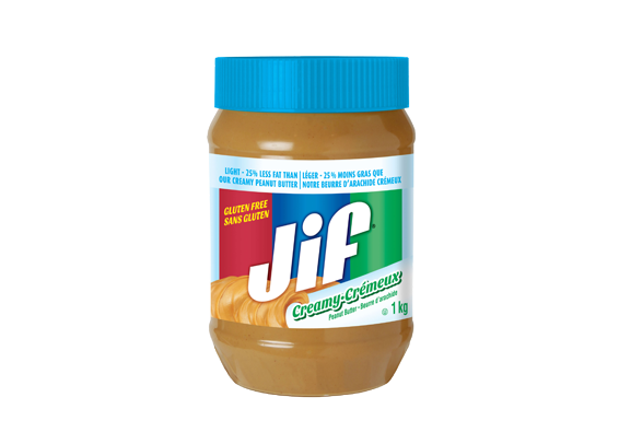 Jif<sup>®</sup> Light Creamy Peanut Butter