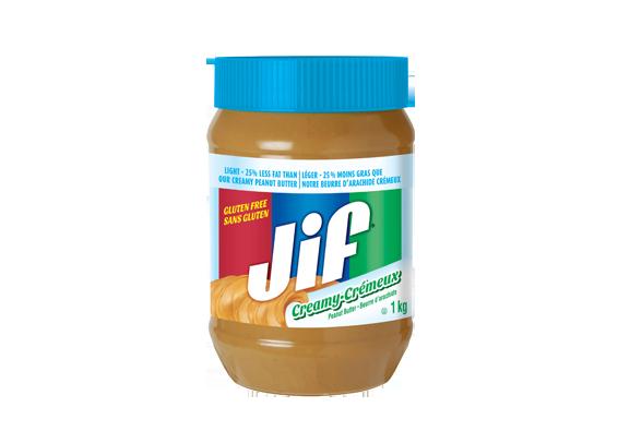 Beurre d'arachide Jif<sup>®</sup> Léger crémeux