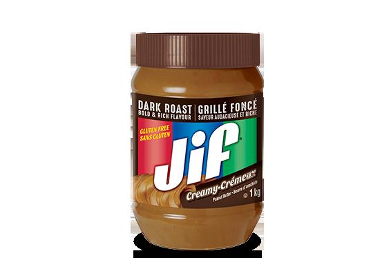 Beurre d'arachide Jif<sup>®</sup> crémeux Grillé foncé