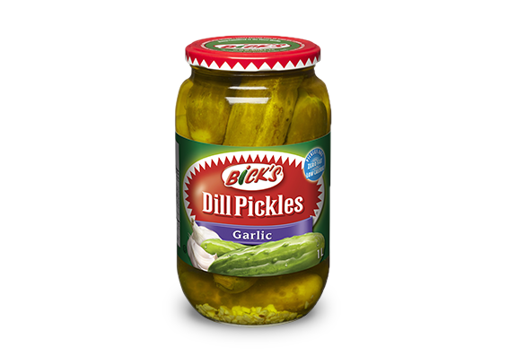 <strong>Bick's<sup>®</sup></strong> Garlic Dill Pickles