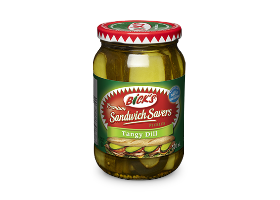 <strong>Bick's<sup>®</sup> Sandwich Savers<sup>®</sup></strong> Tangy Dill Pickles