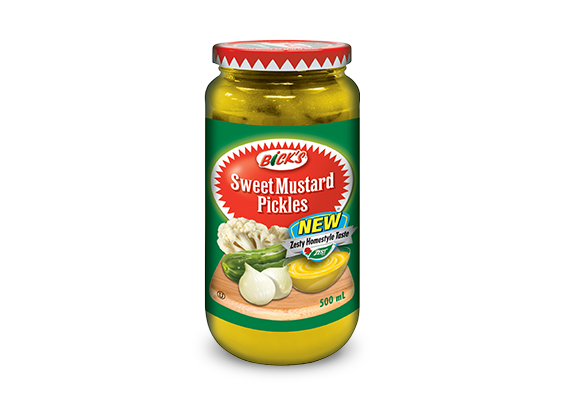 <strong>Bick's<sup>®</sup></strong> Sweet Mustard Pickles