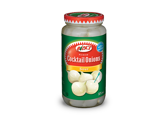 <strong>Bick's<sup>®</sup></strong> Sour Cocktail Onions