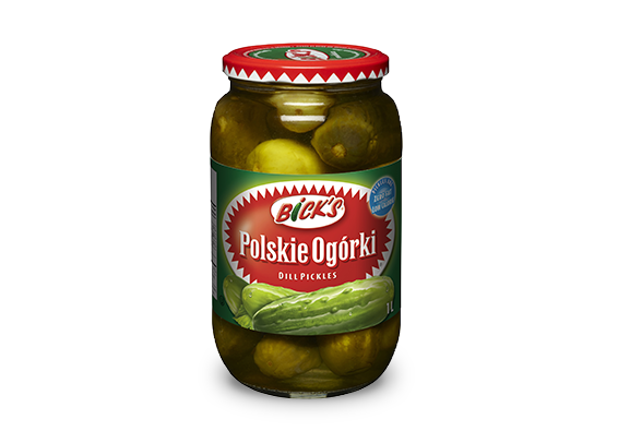 <strong>Bick's<sup>®</sup></strong> Polskie Ogórki Dill Pickles