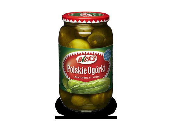 Cornichons à l'aneth Polskie Ogórki <strong>Bick's<sup>®</sup></strong>
