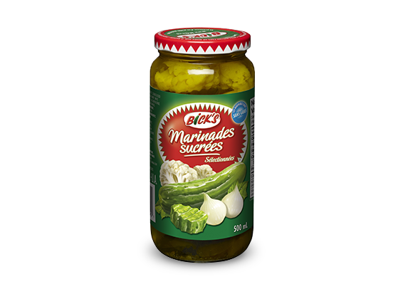 Marinades sucrées <strong>Bick's<sup>®</sup></strong>