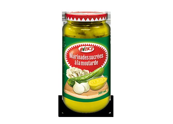 Marinades sucrées à la moutarde <strong>Bick's®</strong>