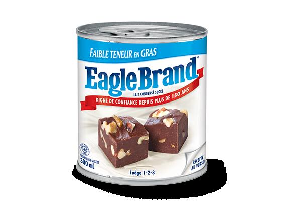 Lait condensé sucré Eagle Brand® faible en gras