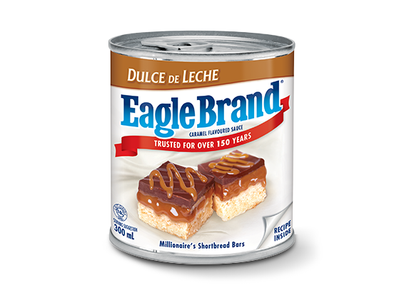 <strong>Eagle Brand®</strong> Dulce de Leche Caramel Flavoured Sauce