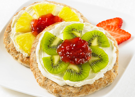 Fleurs de déjeuner aux petits fruits