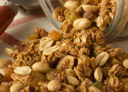 Granola au beurre d'arachide