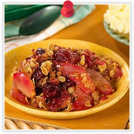 Baked Cranberries and Pears