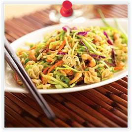 Asian Peanut Broccoli Salad