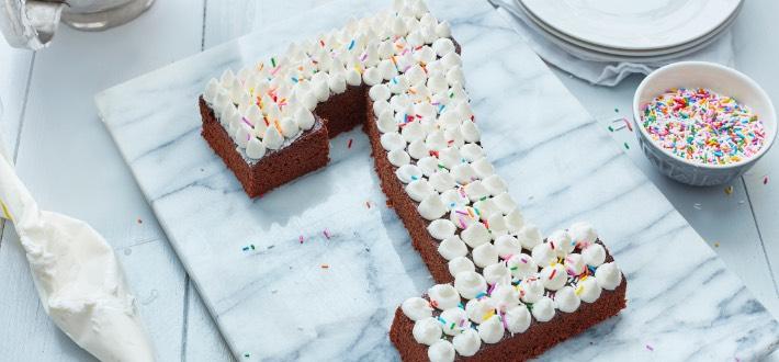 Gâteau au chocolat facile à couper