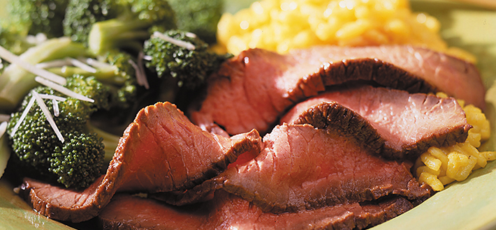 Bifteck à la marinade asiatique