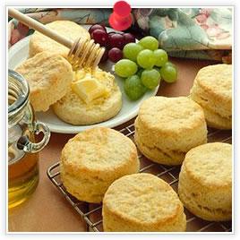 Biscuits à la poudre à pâte