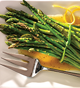 Asparagus with Citrus Dressing