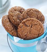 Biscuits au gingembre éclatants